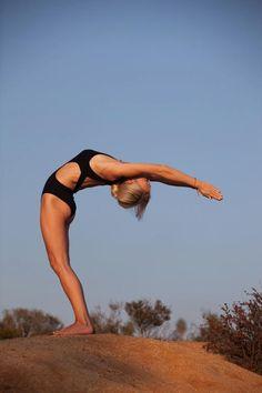 Half #Moon #Yoga pose