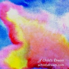 Waldorf Wet-On-Wet Watercolor Painting - The basics and instructions at A Child's Dream. http://www.achildsdream.com/waldorf-watercolor-basics/