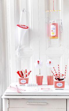 Blog My Little Party - Ideas e Inspiración para Fiestas: DIY: Toppers Payaso
