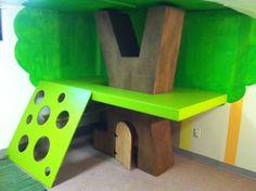 Indoor Treehouse.