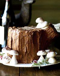 Chocolate-Malt Stump de Noel.