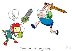 Scribblenauts VS. Adventure Time!