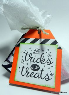 Candy treat bag by #