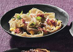 Tagliatelle with Fresh Corn Pesto - Bon Appétit