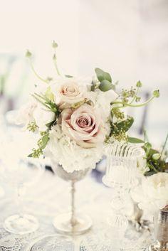 #Vintage #Rose #Centerpiece