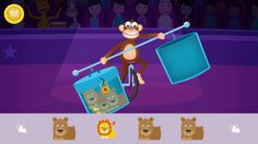 Best math apps for preschoolers: Shiny Circus app