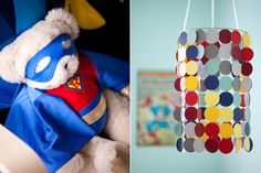 cute little touches for a modern super hero nursery #pinhonest