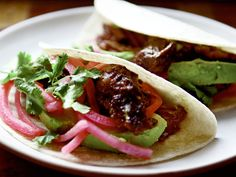 barbacoa beef cheek tacos -- zest up this meal with Ortega salsa and chiles - ortega.com #beefcheek #tastymexicanrecipe #tacos