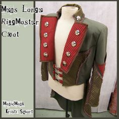 Ringmasters coat by Kristi Smart AKA ManicManx, via Flickr