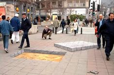 3D Pavement Illusions