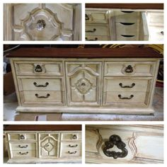 great winter project Refinished Buffet