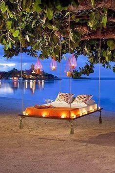 floating tree bed/swing