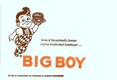 Big Boy's restaurant