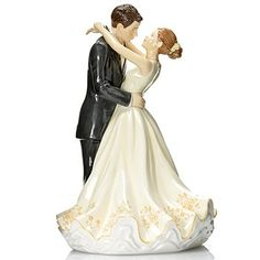 "Royal Doulton® Occasions: Forever Figurine 9.25"" Bone China Cake Topper"