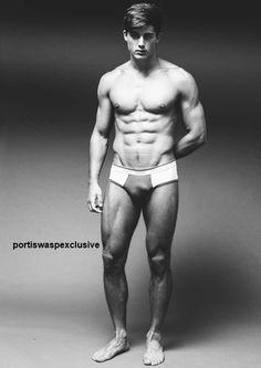 Pietro Boselli at Models 1 London by Darren Black exclusive for My Portis Wasp. Height: 1m85, 6'1'; Hair: Dark Brown; Eyes: Hazel