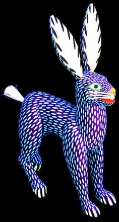 Mexican carved hare