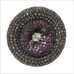 Antique Victorian Rose Cut Diamond Ring