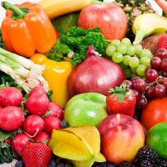 rainbow of foods