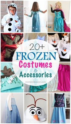 20+ DIY Disney FROZEN Costumes