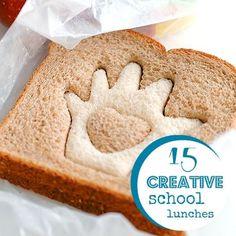 lunch idea, school lunch, kid lunch, creativ school