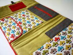 Couture les pochettes et trousses on pinterest zipper for Trousse couture cuir