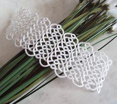 Celtic tatted bridal cuff
