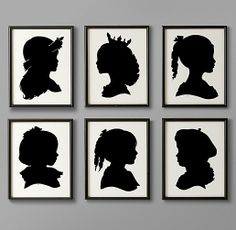 Hand-Cut Children's Silhouette Art | Art | Restoration Hardware Baby & Child