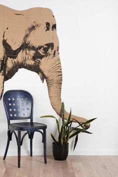 Elephant Wall Decal  #UrbanOutfitters