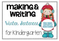 Winter Making Sentences; Christmas Math Scoot; Super Vocabulary Hero | Teacher Approved