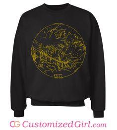Map the Stars custom #sweater from Customized Girl #horoscope #zodiak #constellation #stargazer #astrology