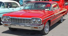1964 Chevrolet Impala - Red - Front Angle    Image Copyright Serious Wheels