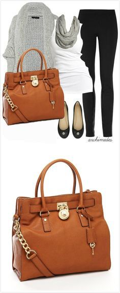 Michael kors - so want a new tanned leather bag!