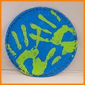 sundayschool, craft, plate