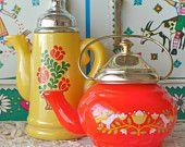 Vintage Avon Teapot - Set of 2