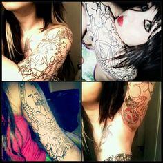 Body art on pinterest disney tattoos snowflake tattoos for Corpus christi tattoo shops