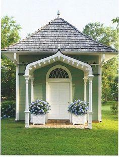 great studio, gatehouse, garden shed...