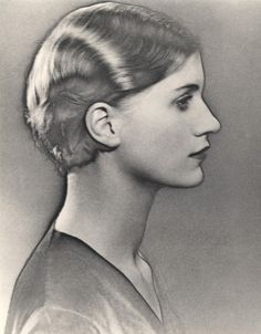 Lee Miller, 1930 by Man Ray.