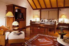 Pavillion Bedroom  @ The Oberoi, Lombok - Indonesia
