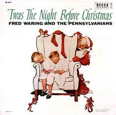 """Norman Rockwell """"Twas The Night Before Christmas""""  (1960)"""