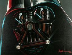 Christian Waggoner's Star Wars Paintings
