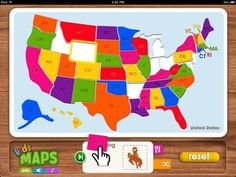 geography apps for kids 2-7 years old