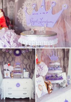 Sofia the First Party Ideas from Peckled #parties #princess #sofiathefirst