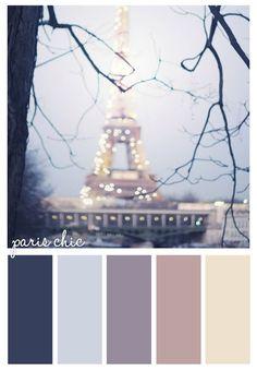 Paris Chic pari chic, color palett, paris chic
