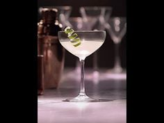 The Gimlet, a simple sweet and citrusy Grey Goose cocktail.