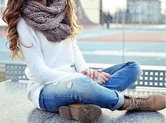 Love this outfit for winter