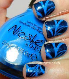 Let them have Polish!: Blue Nails for World Diabetes Day!