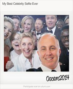 Make your own celebrity selfie!