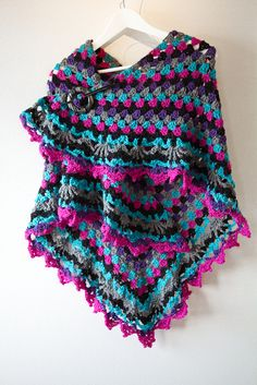 KarinvdBs Distraction granny ~ stunning  ~ free pattern