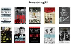 Books about JFK.