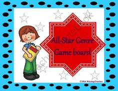 All Star Reader Genre Activity from Windup Teacher on TeachersNotebook.com -  (3 pages)  - A reproducible to motivate students to read different genres.